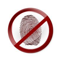 fingerprint detection patent