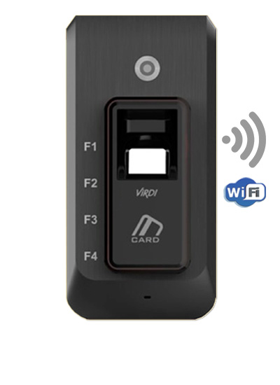 Virdi scanner with wifi sync to smartphone