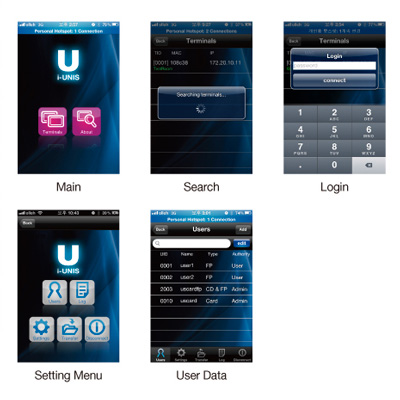 virdi smartphone ui